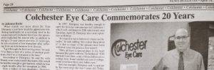 Colchester Eye Care in the News